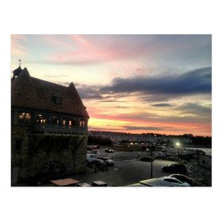 Narragansett Coast Guard Towers Postcard