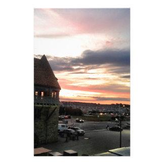 Narragansett Coast Guard Towers Customized Stationery