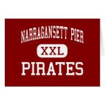 Narragansett Pier - Pirates - Narragansett Greeting Card