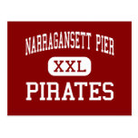 Narragansett Pier - Pirates - Narragansett Postcard