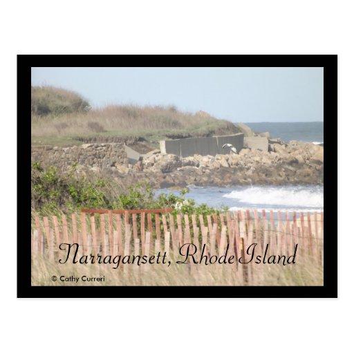 Narragansett, postal de Rhode Island