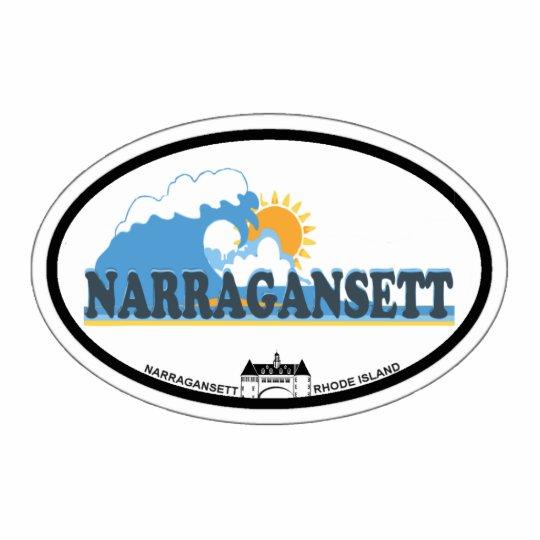 Narragansett. Statuette