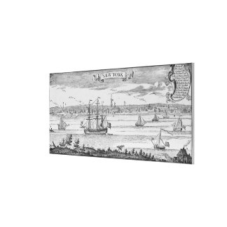 Narrative and Critical History of America' Canvas Print