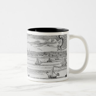 Narrative and Critical History of America' Two-Tone Coffee Mug