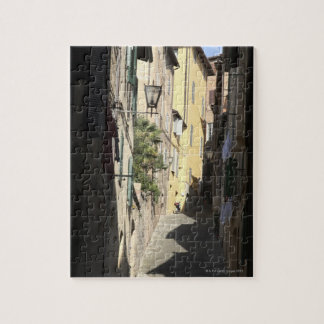 Narrow Alley, Siena, Italy Jigsaw Puzzle