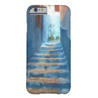 Narrow Blue Stairway in Morocco Barely There iPhone 6 Case