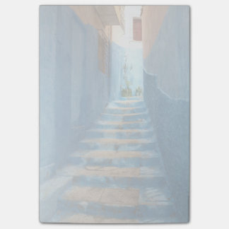 Narrow Blue Stairway in Morocco Post-it® Notes