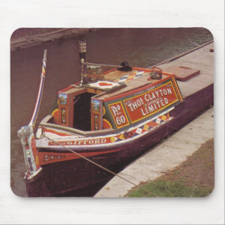 """Narrow Boat """"Gifford"""" Mouse Pad"""