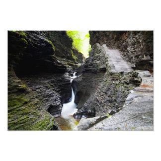 Narrow cascade, Watkins Glen Photograph