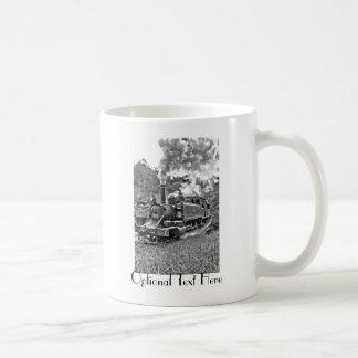 Narrow Gauge Steam Train Puffing Engine Coffee Mug