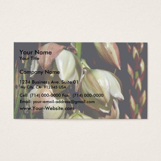 Narrow-leaf Yucca Business Card