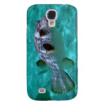 Narrow-lined Puffer Fish Galaxy S4 Covers