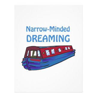 NARROW MINDED DREAMING LETTERHEAD