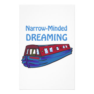 NARROW MINDED DREAMING STATIONERY