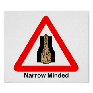 Narrow Minded Poster