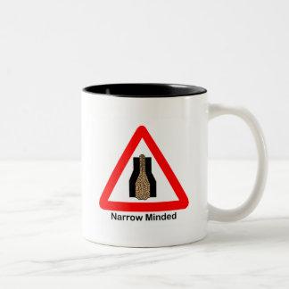 Narrow Minded Two-Tone Coffee Mug