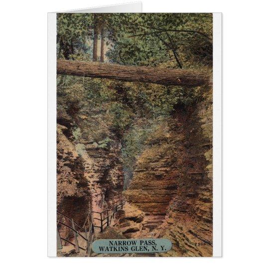 Narrow Pass, Watkins Glen, N.Y. Card