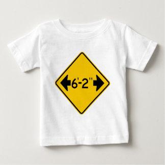 Narrow Passage Highway Sign T Shirt