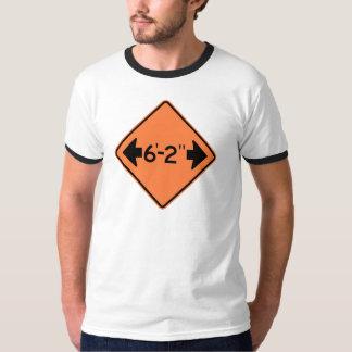 Narrow Passage Highway Sign Tee Shirts