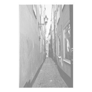 Narrow street in Stockholm Stationery