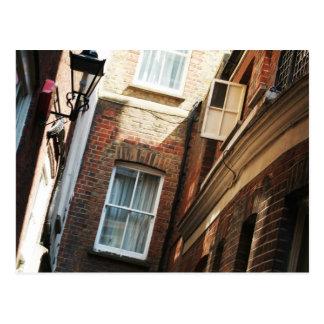 Narrow street postcard