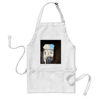 Narrow Streets Of Ancient Scalea Adult Apron