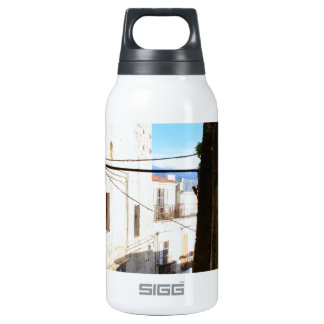 Narrow Streets Of Ancient Scalea Insulated Water Bottle