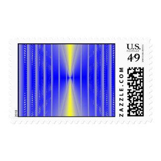 Narrow Threshold Postage Stamp