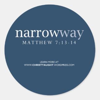 Narrow Way Sticker