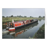Narrowboat birthday card