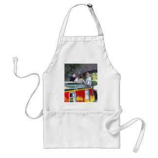 Narrowboat boat Peace Coventry Canal Nuneaton Aprons