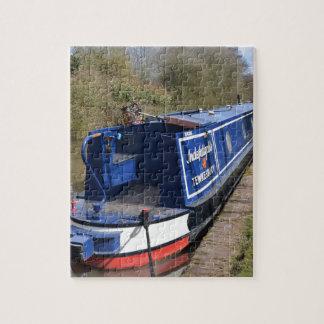 Narrowboat Indefatigable Jigsaw Puzzle