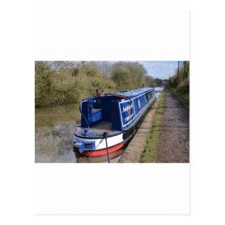 Narrowboat Indefatigable Postcard