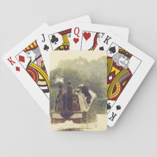 Narrowboat on the Ashby Deck Of Cards