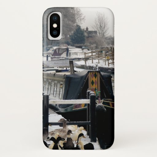 NARROWBOATS iPhone XS CASE