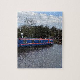 Narrowboats Jigsaw Puzzle