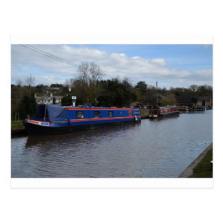 Narrowboats Postcard