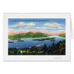 Narrows, Hundred Islands, Tongue Mountain View Greeting Cards