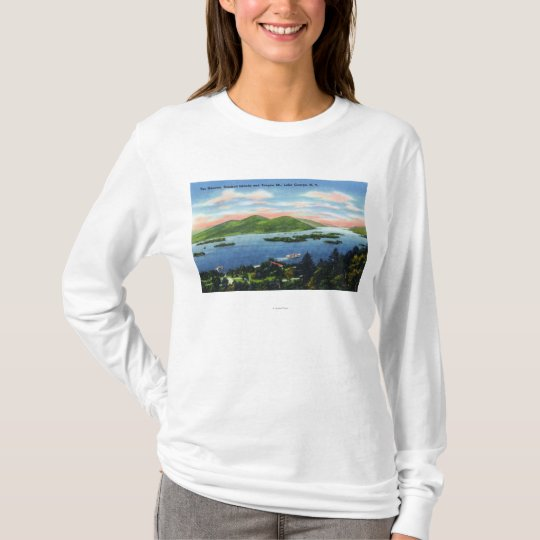 Narrows, Hundred Islands, Tongue Mountain View T-Shirt