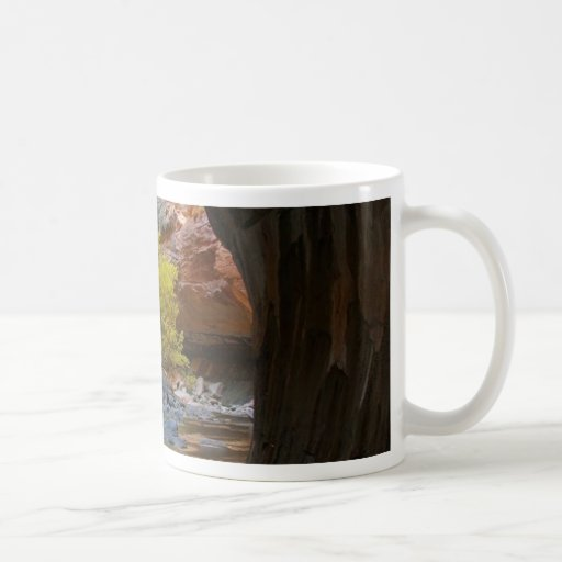 Narrows In Zion National Park Coffee Mug
