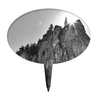 Narrows Pinnacle Boulder Canyon Cake Topper