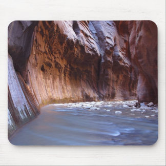 Narrows Zion National Park Mouse Pad