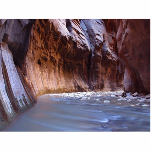 Narrows Zion National Park Photo Cut Out