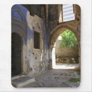 Narthex of the  Chuch of the Panayia Pyrgiotissa, Mouse Pad