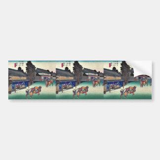 Narumi por Ando, Hiroshige Ukiyoe Pegatina Para Auto