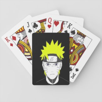 naruto collection playing cards