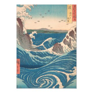 naruto whirlpool by Japanese artist Hiroshige Magnetic Card