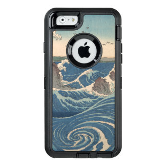 naruto whirlpool Japanese woodprint art OtterBox Defender iPhone Case