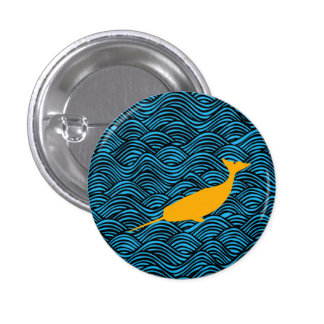 Narwhal 79 - Small Button