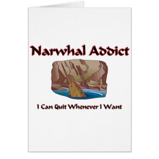 Narwhal Addict Card